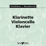 Klarinette, Violoncello, Klavier