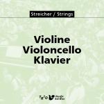 Violine, Violoncello, Klavier
